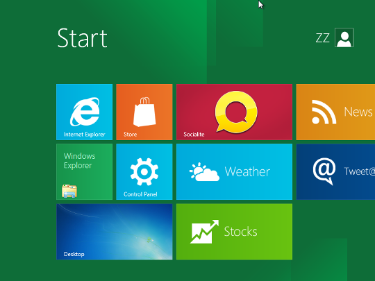 Windows 8インストールステップ画像